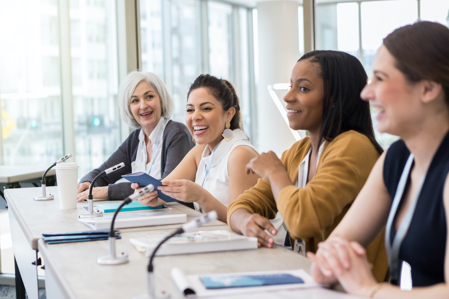 The best advice often comes from those who have been there. That was the impetus for the FT's recent Women at the Top USA panel, The stages of your career.