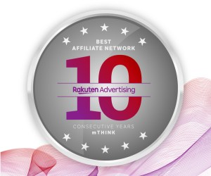 Rakuten Advertising has now been named the world's top affiliate network for a decade straight by mThink, publishers of the Blue Book performance marketing network rankings.