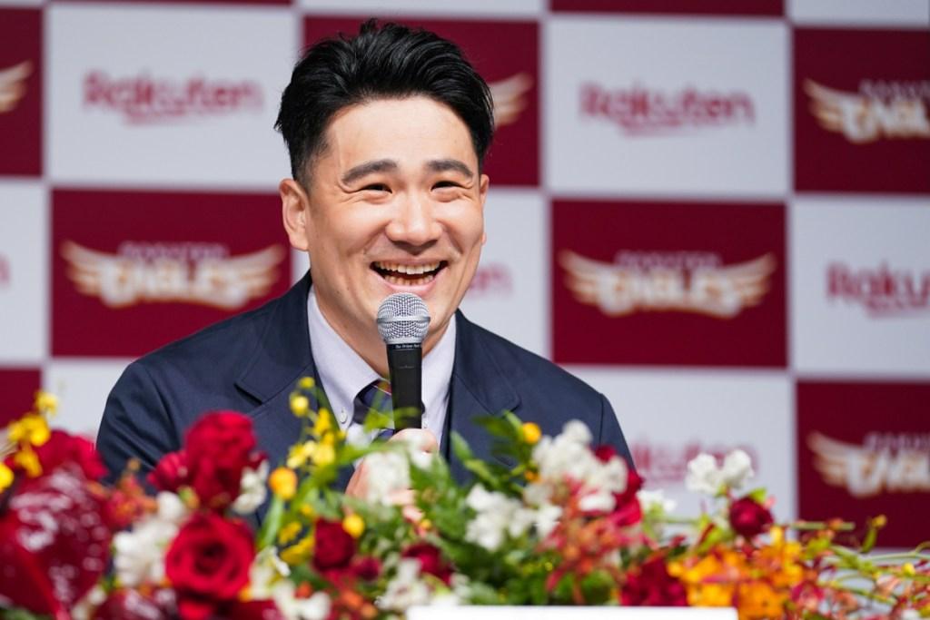 Masahiro Tanaka is determined to lead the Tohoku Rakuten Golden Eagles to a Japan Series victory.