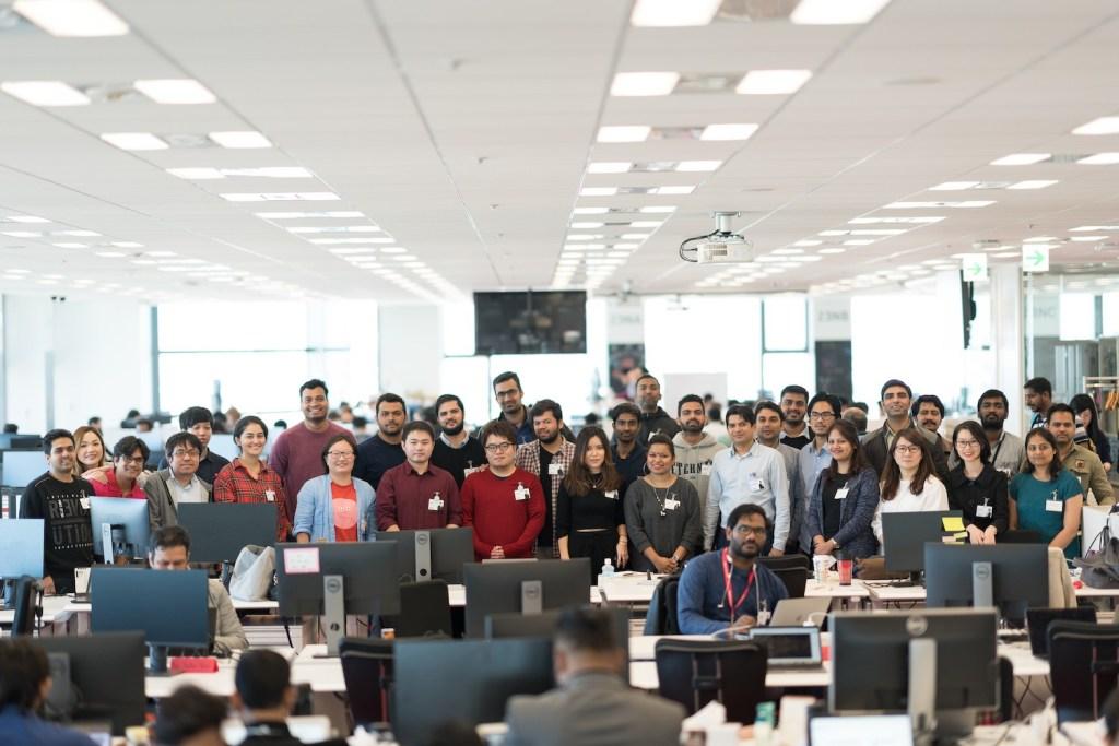 Rahul Atri and his team at Rakuten Mobile.