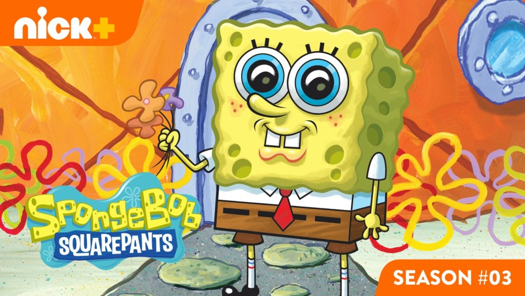 Who lives in a pineapple under the sea? Hint: He's yellow, absorbent and porous.