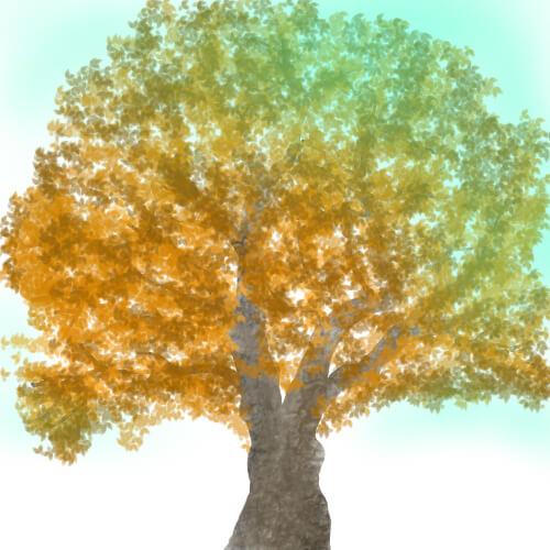 木のブラシ