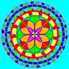 Procreateのマスク機能を使って綺麗な円を描く方法。