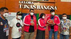 Fatma Ingatkan Sportivitas dipembukaan Basket Ball Championshop Walikota Cup