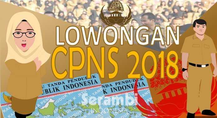 Lowongan CPNS 2018 SSCN BKN
