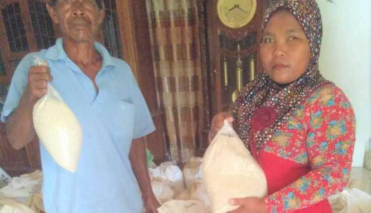 Kekurangan Takaran Beras PKH BPNT Desa Purwoasri