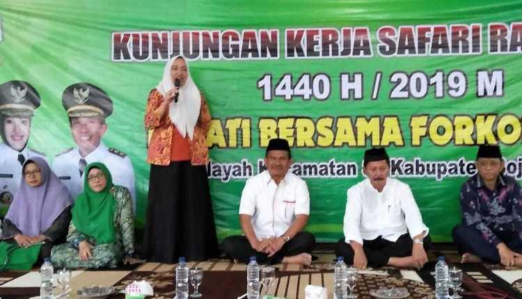 Bupati Bojonegoro Gelar Safari Ramadhan 1440 H,
