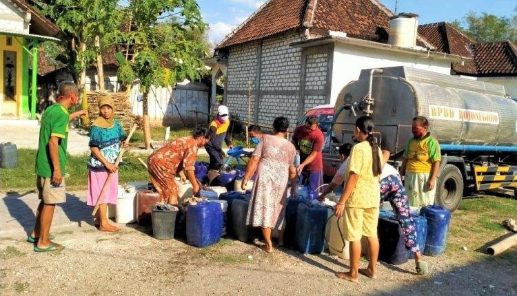 1000 Tangki Air Bersih Disiapkan BPBD Bojonegoro,