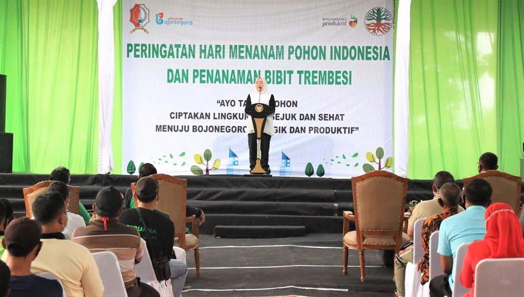 Peringatan HMPI Bojonegoro Dirangkai Dengan Pembinaan Pengendalian Pencemaran Lingkungan, Digelar di Desa Kesongo, Kedungadem 1