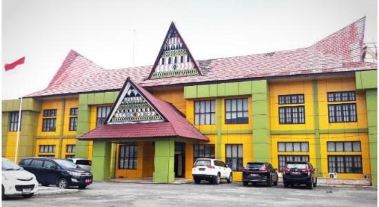 Kantor DPRD Padang Lawas Utara. Foto: Istimewa