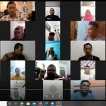Webinar terkait Pilkada 2020 di Sumut. Foto: Istimewa