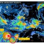 Ilustrasi cuaca di Samudra Hindia. Foto: Istimewa