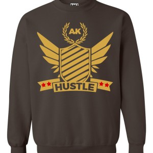 rakz dark chocolate hustle crew neck