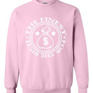 rakz pink money bag classic