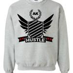 rakz grey hustle crew neck