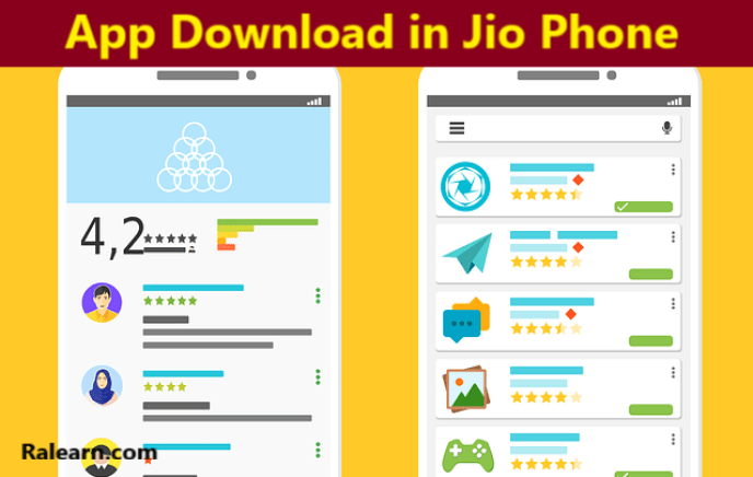 jio phone me app download kaise kare
