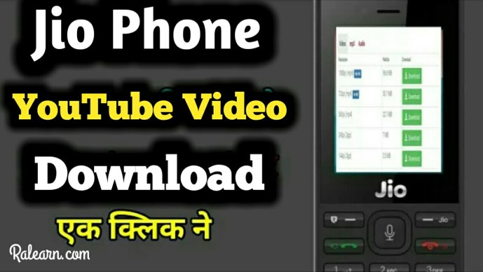 jio phone me youtube video download kaise kare