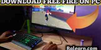 Free Fire ko PC or Laptop me kaise Download kare