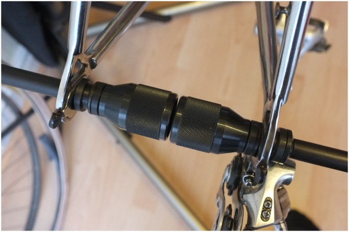 Raleigh Ilkeston SBDU 531 Professional Rear Dropout Alignment