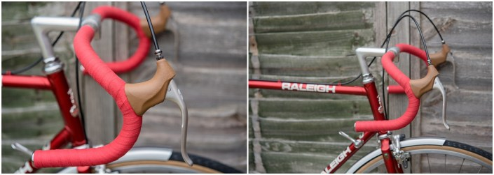 Raleigh SBDU Ilkeston Randonneur 531 1985 SB7660 Brake Levers