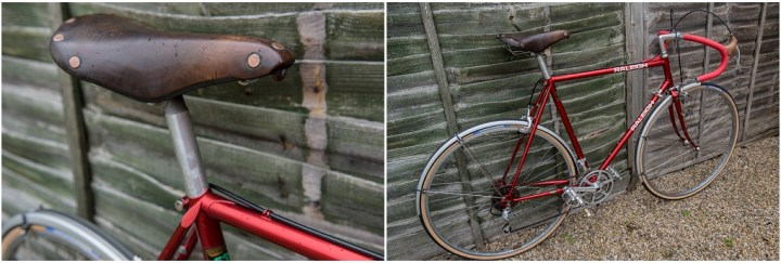 Raleigh SBDU Ilkeston Randonneur 531 1985 SB7660 Brooks Saddle