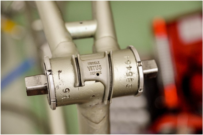 SBDU TI Raleigh Ilkeston SB5464 Time Trial Special OMAS Titanium Bottom Bracket Cable Guide