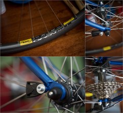 Dave Yates Frame Building Course Complete Bike Dropouts