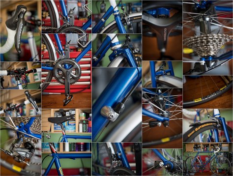 Dave Yates Frame Building Course Complete Bike Montage