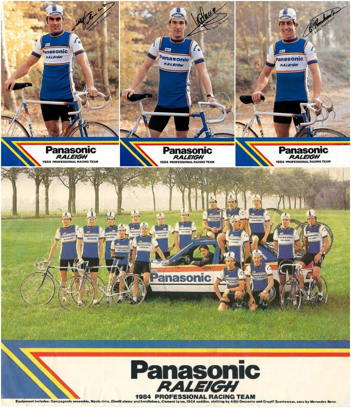 Panasonic Raleigh 1984 Team SBDU Ilkeston