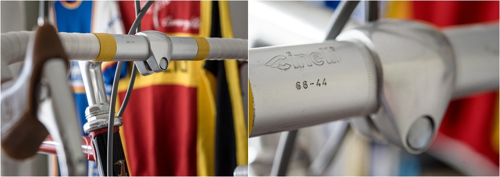 TI-Raleigh 1980 Team Bike Specification SBDU SB4059 Cinelli 1A Stem and 66 Handlebars