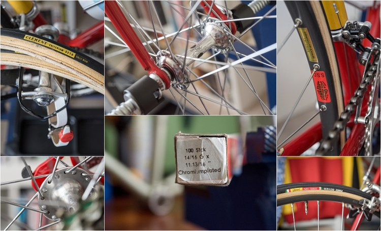 TI-Raleigh 1980 Team Bike Specification SBDU SB4059 Mavic SSC Campagnolo Record Clement Berg Union