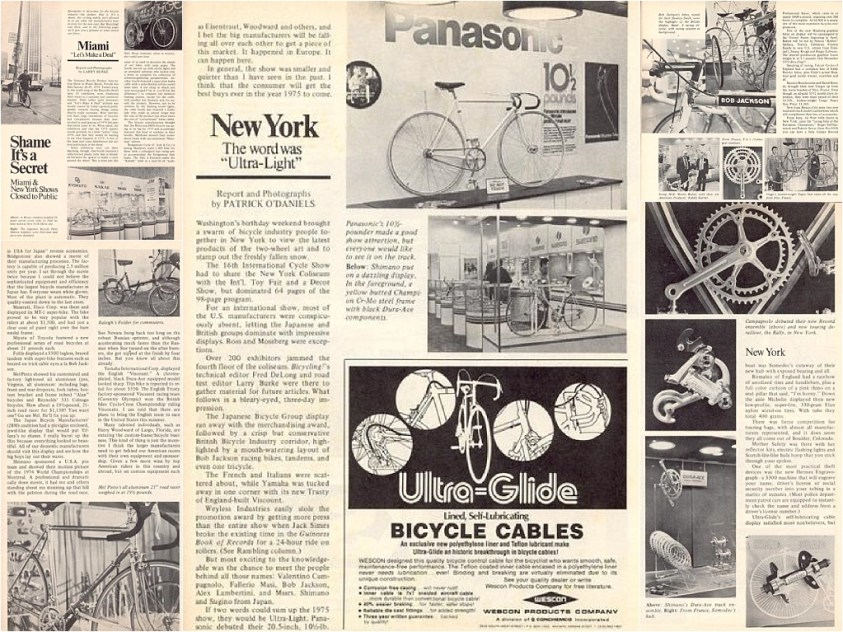 1975 to 1977 Reynolds 753 Tubing SBDU TI-Raleigh Road Frames New York 1975