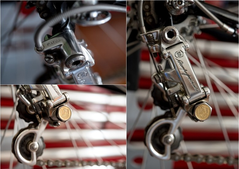 SB6398 SBDU Ilkeston Raleigh Denton Cycles Reynolds 753R Campagnolo Super Record 50th Anniversary Rear Derailleur