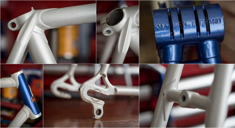 SB518 SBDU Ilkeston 1976 TI-Raleigh Team Pro Reynolds 531 Double Butted Frame Features
