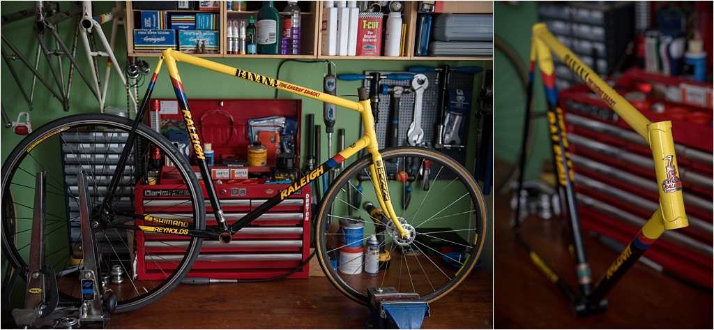 SB9000 SBDU Nottingham Raleigh Banana Reynolds 753R Low Profile Track Pursuit Frame – New Arrival