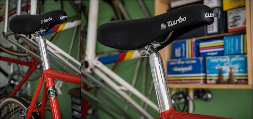 SBDU Ilkeston SB6827 1984 Reynolds 531c Turbo Saddle