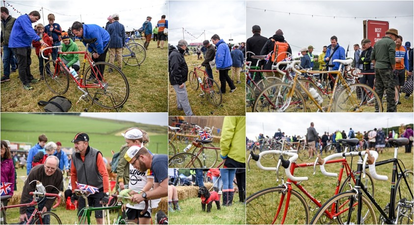 Eroica Britannia 2018 My TI-Raleigh SBDU Meeting and Chatting
