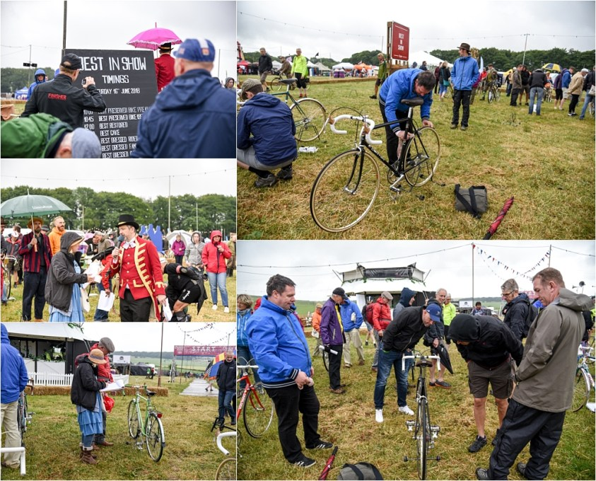 Eroica Britannia 2018 My TI-Raleigh SBDU Show Day Setting Up