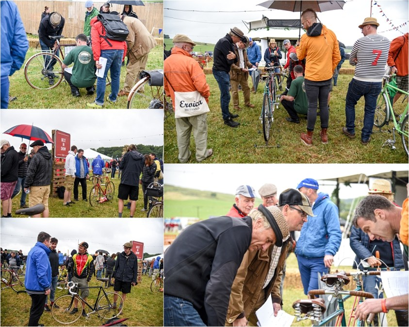 Eroica Britannia 2018 My TI-Raleigh SBDU Show Day the Voting Starts