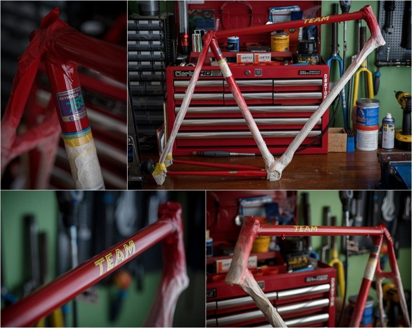 SB4059 1980 TI-Raleigh Team Pro Reynolds 753 Clear Coated