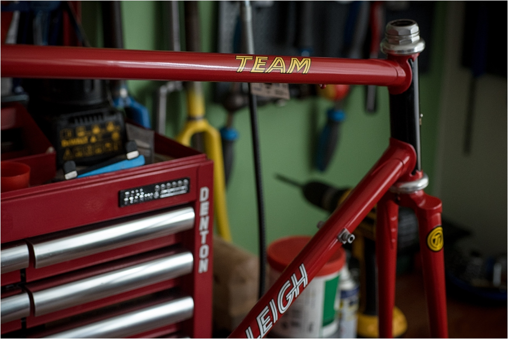 Reynolds 531 frame and fork pre 1974 choices A One set per sale