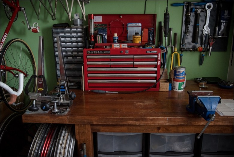My TI-Raleigh SBDU Workshop Workbench