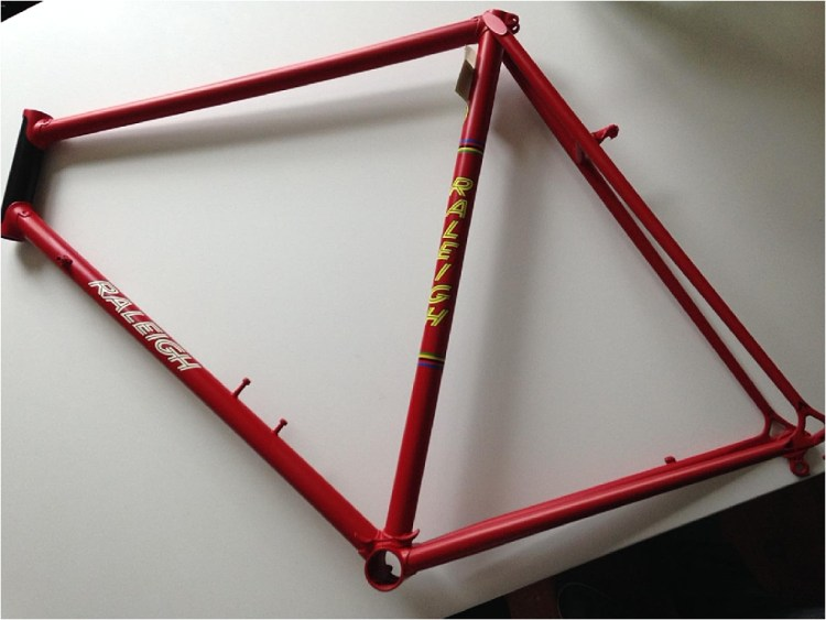 Roy Schuiten 1975 GP Lugano and Grand Prix des Nations Time Trial Bike Repainted