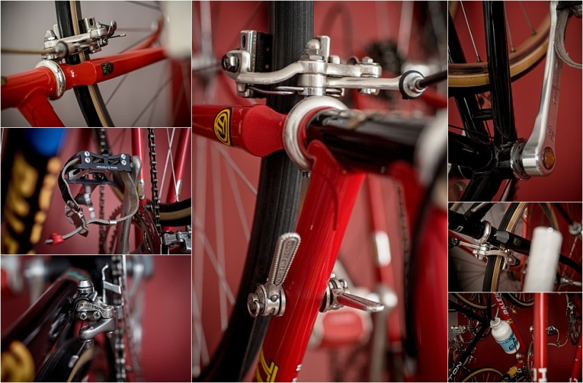 My TI-Raleigh SBDU Collection Campagnolo Shimano Suntour