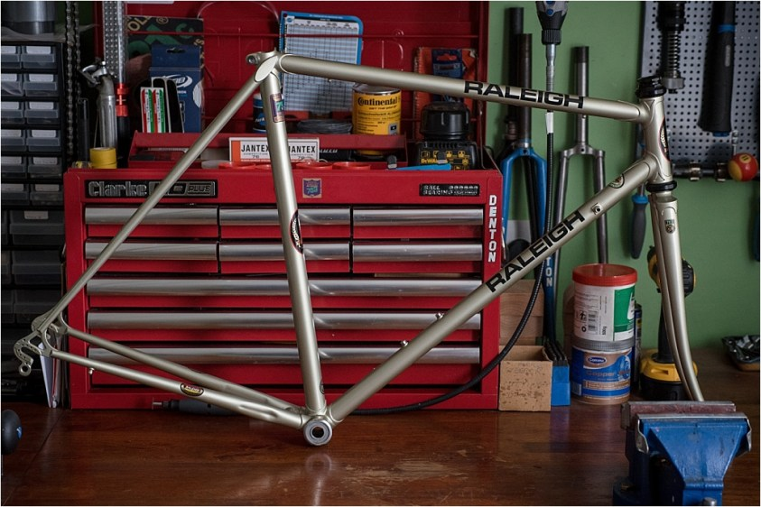 SB1995 SBDU Ilkeston Reynolds 753 Road Frame My TI-Raleigh SBDU