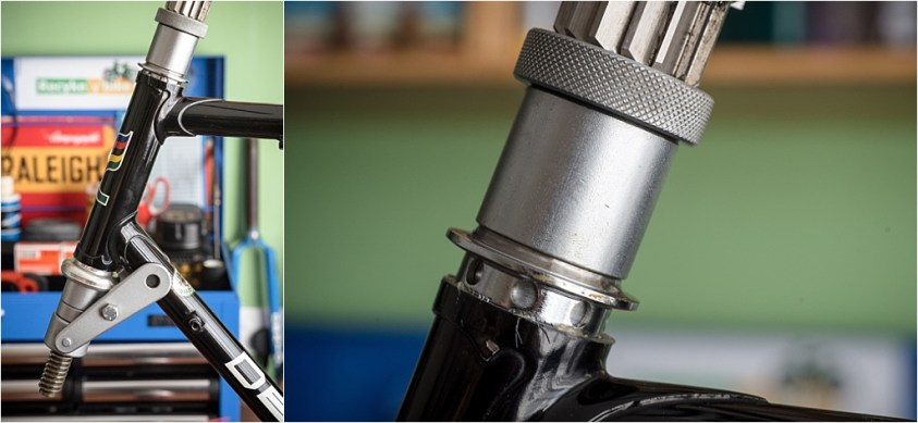 Campagnolo Super Record Headset Pressing Cups