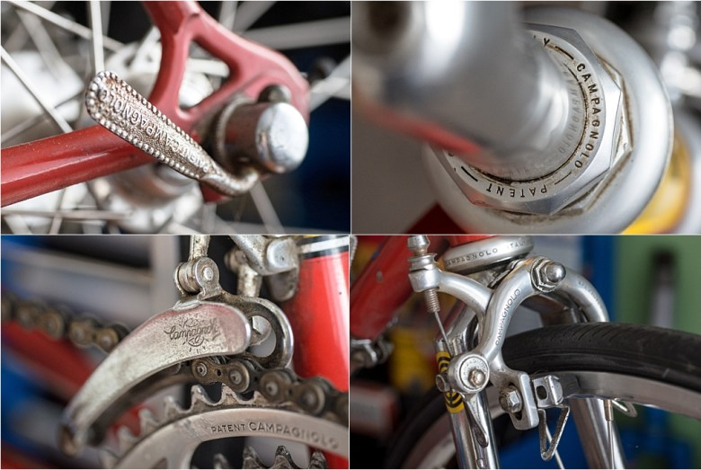 1974 Raleigh SBDU SB9 Early Campagnolo Features