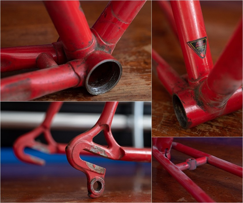SB9 1st Gen Campagnolo Super Record Difficult to Clean Areas