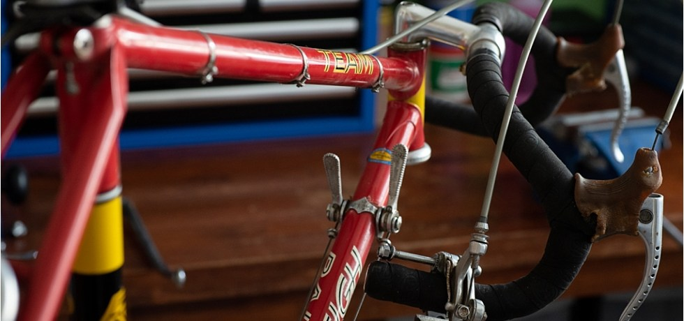 SB9 1st Gen Campagnolo Super Record Ready to Strip