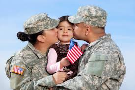 Military-Family-American-Flag